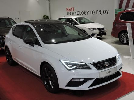 SEAT Leon FR BlackEditionPLUS TSI