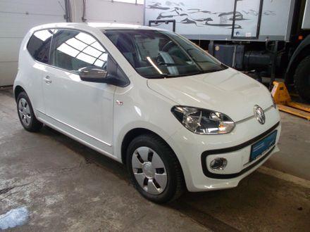 VW white up!