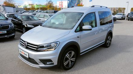 VW Caddy Alltrack TSI