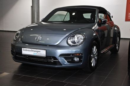 VW Beetle Cabriolet Design TSI