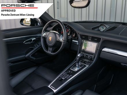 Porsche 911 Carrera 4 Cabrio Black Edition (991)