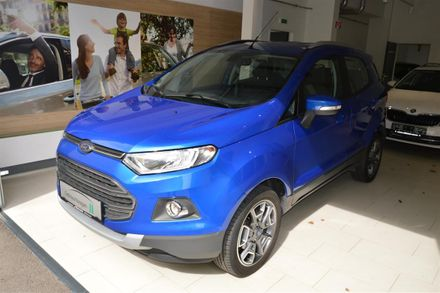 Ford EcoSport 1,5 Ti-VCT Titanium