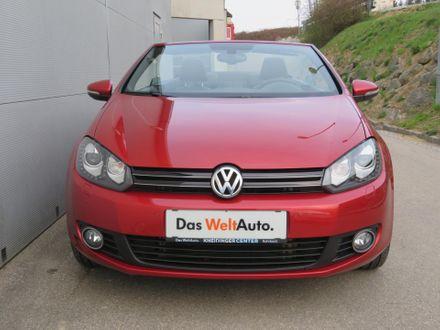 VW Golf Cabriolet Sky BMT TDI